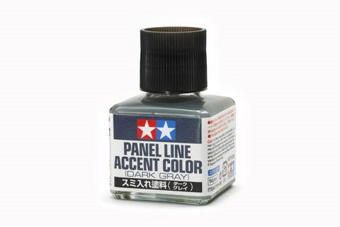Tamiya Panel Line Accent Color (Dark Gray)