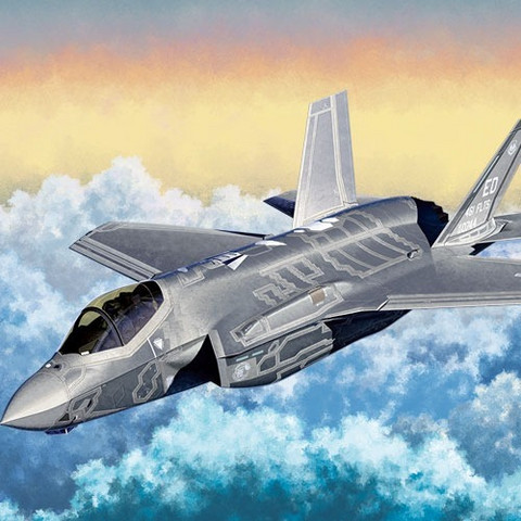 Academy 1/72 USAF F-35A Joint Strike Fighter