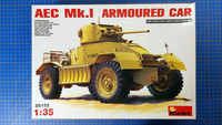 KÄYTETTY MiniArt 1/35 AEC Mk.I Armoured Car