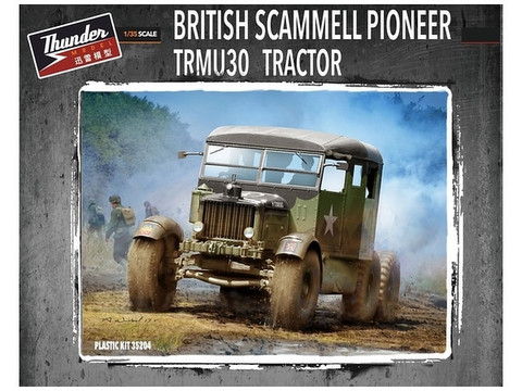 Thunder Model 1/35 British Scammell Pioneer TRMU30 Tractor
