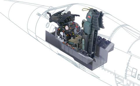 Italeri 1/12 F-104G Cockpit