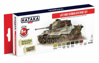 Hataka Red Line Late WW2 German AFV maalisetti 8x17ml