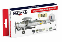 Hataka Red Line RAF Coastal Command & RN FAA maalisetti 6x17ml