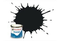 Humbrol 21 Black Gloss 14ml