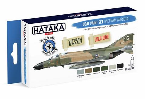 Hataka Blue Line USAF (Vietnam War Era) maalisetti 6x17ml