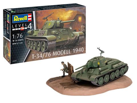Revell 1/76 T-34/76 Model 1940