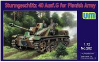 Unimodel 1/72 Sturmgeschutz 40 Ausf.G for Finnish Army