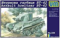 Unimodel 1/72 Assault Howitzer BT-42