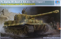 Trumpeter 1/35 Pz.Kpfw.VI Ausf.E Sd.Kfz.181 Tiger I (Late production) w/ Zimmerit