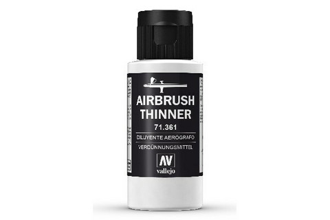 Vallejo 71.361 Airbrush Thinner ohennin 60ml