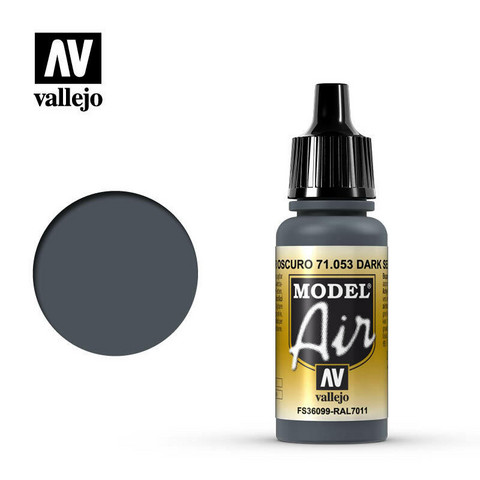 Vallejo Model Air 71.053 Dark Sea Gray