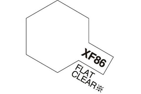 Tamiya Acrylic Mini XF-86 Flat Clear mattalakka 10ml