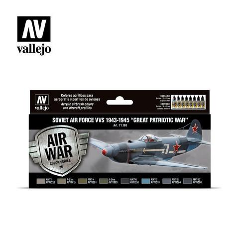 Vallejo Model Air 71.198 Soviet Air Force VVS 1943-1945 maalisetti 8x17ml