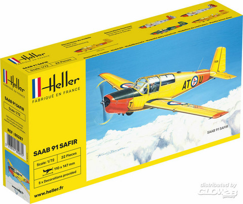 Heller 1/72 Saab Safir
