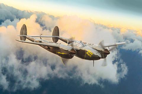 Italeri 1/72 P-38J Lightning