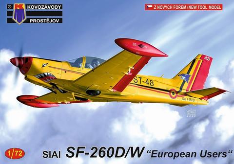 KP 1/72 SIAI SF-260D/W