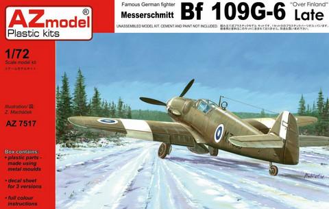 AZ 1/72 Messerschmitt Bf 109G-6 Late