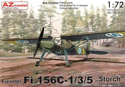 AZ 1/72 Fieseler Fi 156C-1/3/5