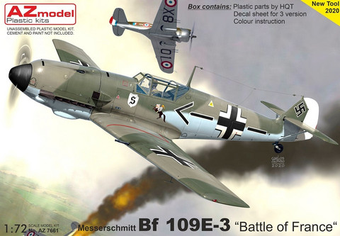 AZ 1/72 Messerchmitt Bf 109E-3