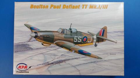 KÄYTETTY MPM 1/72 Boulton Paul Defiant TT Mk.I/III