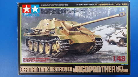 KÄYTETTY Tamiya 1/48 German Tank Destroyer Jagdpanther