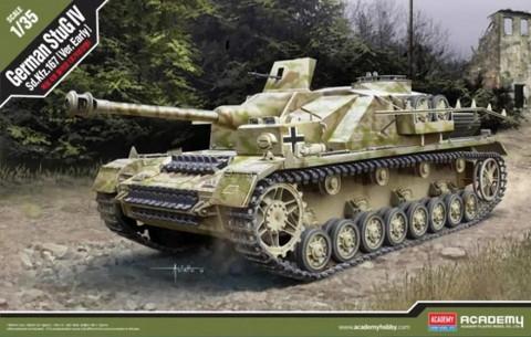 Academy 1/35 StuG IV Sd.Kfz.167 (Early Version)