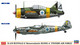 Hasegawa 1/72 B-239 Buffalo & Messerschmitt Bf 109G-6 `Finnish Air Force`