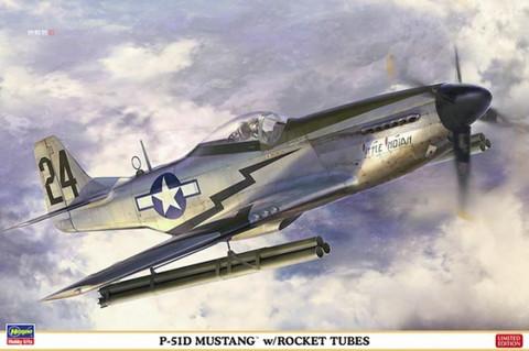 Hasegawa 1/32 P-51D Mustang w/Rocket Tubes