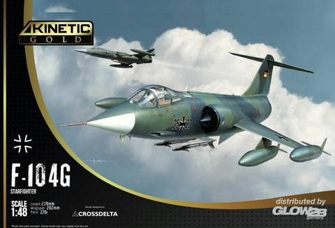 Kinetic 1/48 F-104G Luftwaffe Starfighter