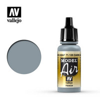 Vallejo Model Air 71.120 Dark Ghost Gray