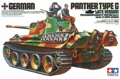 Tamiya 1/35 Panther Type G Late Version