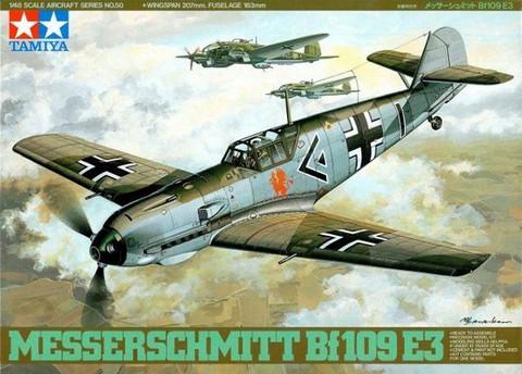 Tamiya 1/48 Messerchmitt Bf 109E3