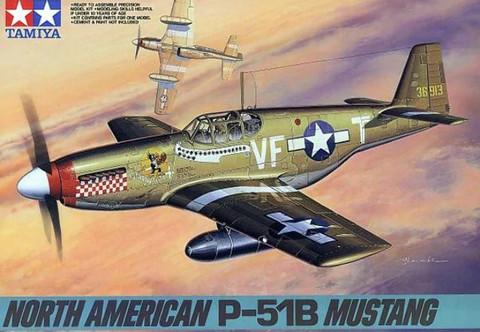 Tamiya 1/48 North American P-51B Mustang