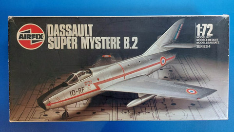 KÄYTETTY Airfix 1/72 Dassault Super Mystere B.2