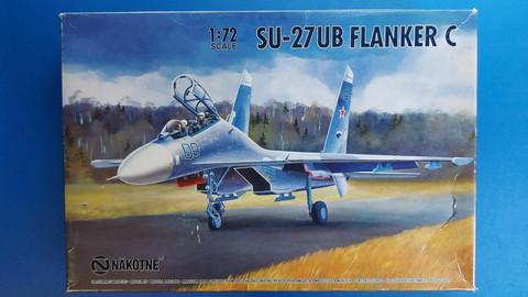 KÄYTETTY Nakotne 1/72 SU-27UB Flanker C