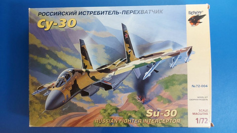 KÄYTETTY Berkut 1/72 Su-30 Russian Fighter Interceptor