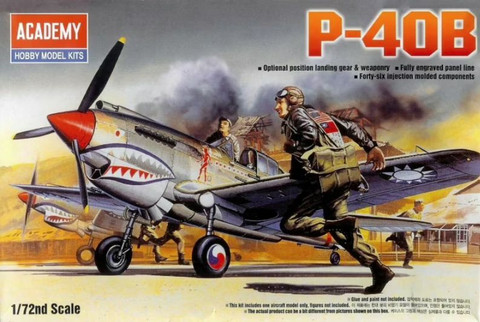 Academy 1/72 P-40B