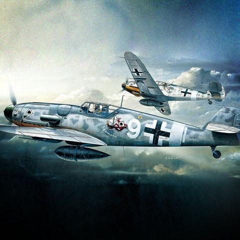Academy 1/72 Messerschmitt Bf 109G-6