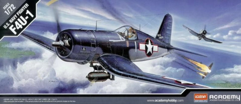 Academy 1/72 U.S. Navy Fighter F4U-1