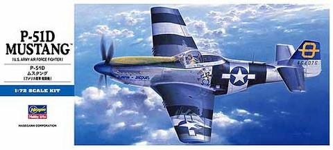 Hasegawa 1/72 P-51D Mustang