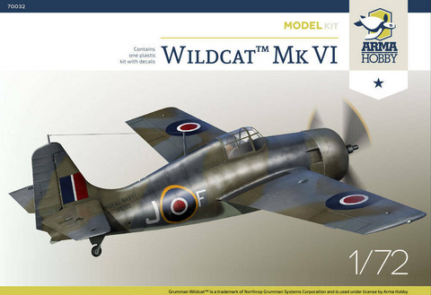 Arma Hobby 1/72 Wildcat Mk.VI (Model Kit)