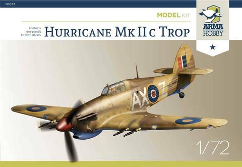 Arma Hobby 1/72 Hurricane MkIIC Trop (Model Kit)