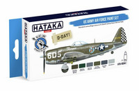 Hataka Blue Line US Army Air Force maalisetti 6x17ml