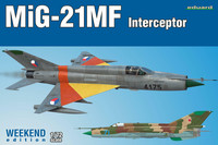 Eduard 1/72 MiG-21MF Interceptor (Weekend Edition)