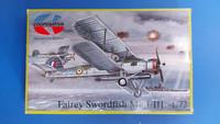 KÄYTETTY Cooperativa/MPM 1/72 Fairey Swordfish Mk.I/III