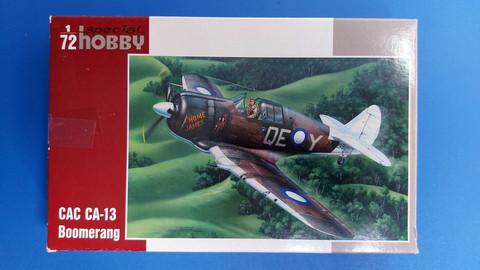 KÄYTETTY Special Hobby 1/72 CAC CA-13 Boomerang