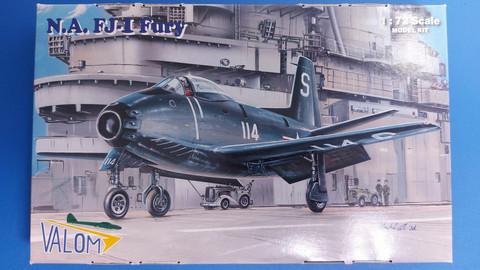 KÄYTETTY Valom 1/72 N.A. FJ-1 Fury