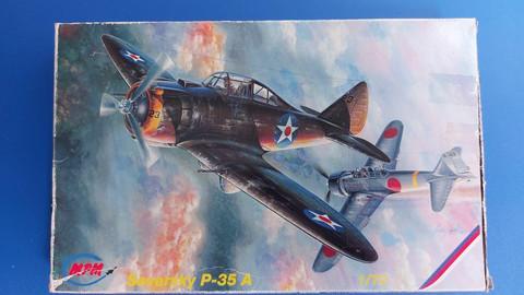 KÄYTETTY MPM 1/72 Seversky P-35A