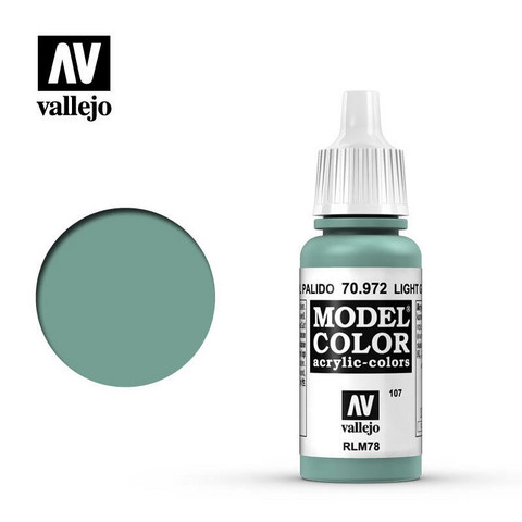 Vallejo Model Color 70.972 Light Green Blue