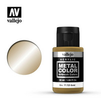 Vallejo Metal Color 77.725 Gold 32ml